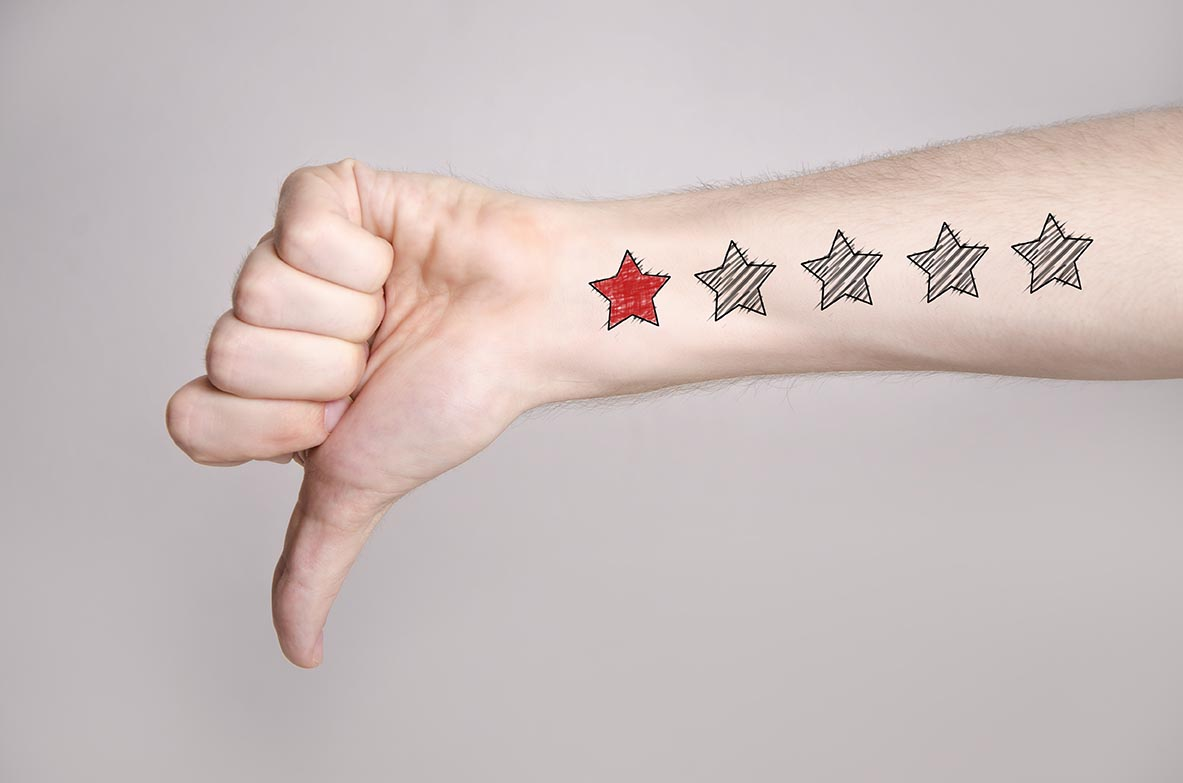 10 Ways to Deal with Negative Customer Reviews