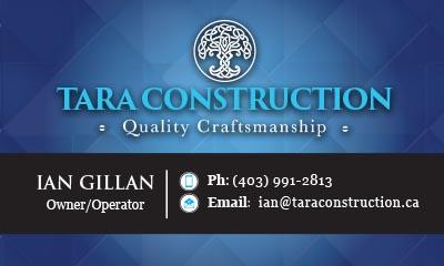 Tara Construction Business Card